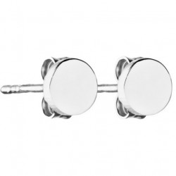 Boucles d'oreilles Argent Pastille Come out and Play