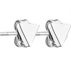 Boucles d'oreilles Argent Triangles Come out and play