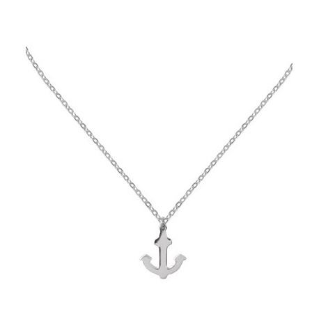 Collier Argent Ancre