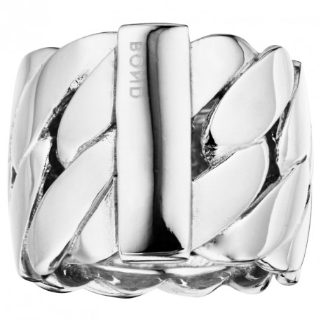 GM Chain Bracelet Silver Ring Melody