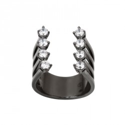 GM Zirconia Silver Ring OZ