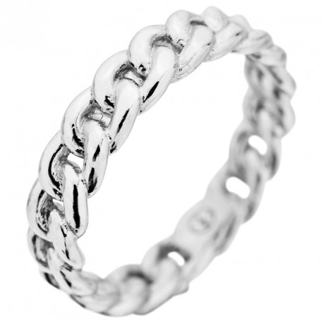Chain Bracelet Silver Ring Melody