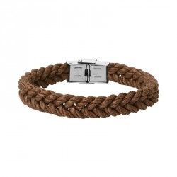 Steel and braided hemp BOB bracelet - Everyday