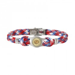 Bracelet douille et cordon multicolore PM Bang Bang