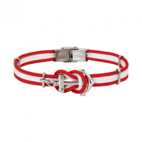 Anchor bracelet DONI 2 colors - WHITE