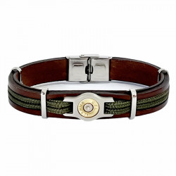 LEATHER AND COLOR CORD BRACELET BANG BANG