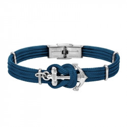 Anchor bracelet DONI unicolor Blue