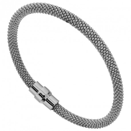 MM Silver Magnetic Bracelet