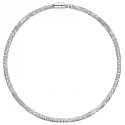 GM Silver Magnetic Necklace