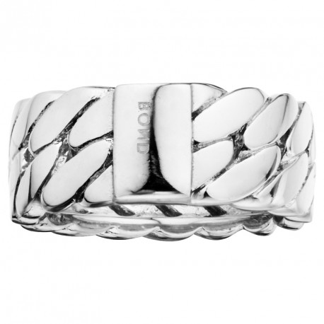 PM Chain Bracelet Silver Ring Melody