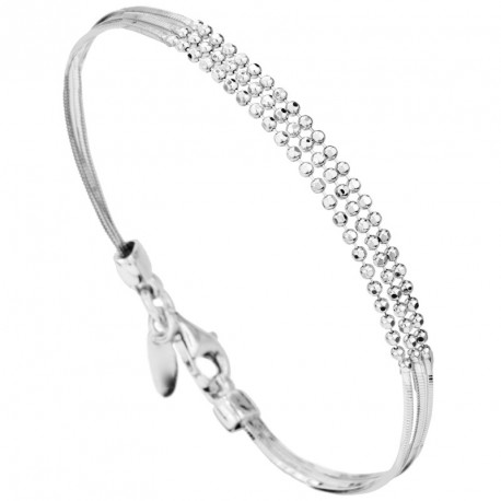 PM Silver Multi-chain Bracelet Melody