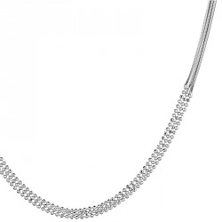 Snake Silver Chain Necklace Melody