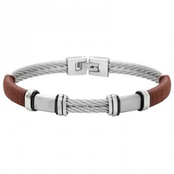 Paracord and cable steel bracelet Everyday