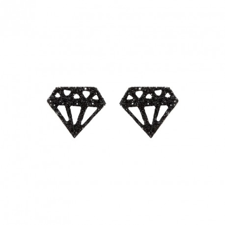 Puce Argent Diamant Glitter Diamonds are a Girl's BF